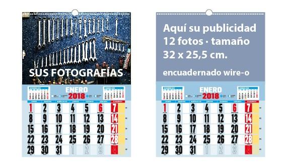 calendario para pared