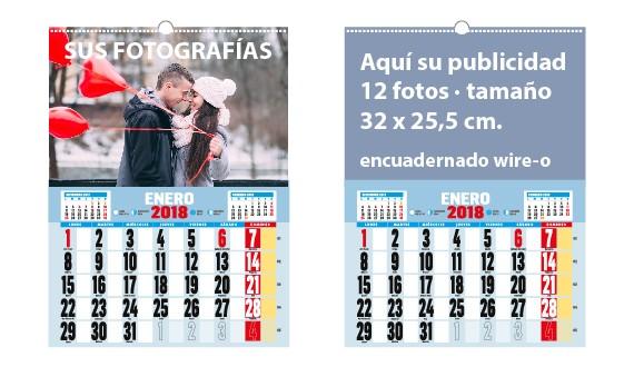 calendario de pared vertical
