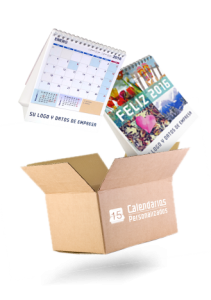Envíos de calendarios personalizados