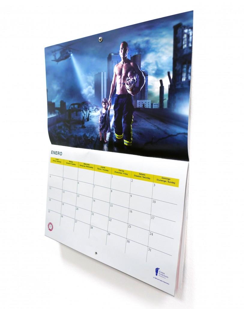 calendarios benéficos de bomberos