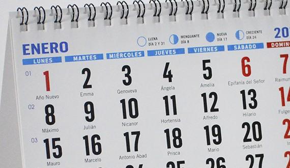 calendario personalizado para empresas modelo M