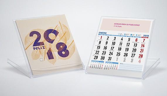Calendario sobremesa CD familia
