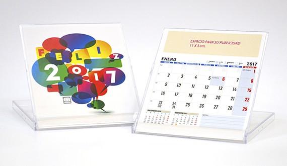 calendario de sobremesa CD
