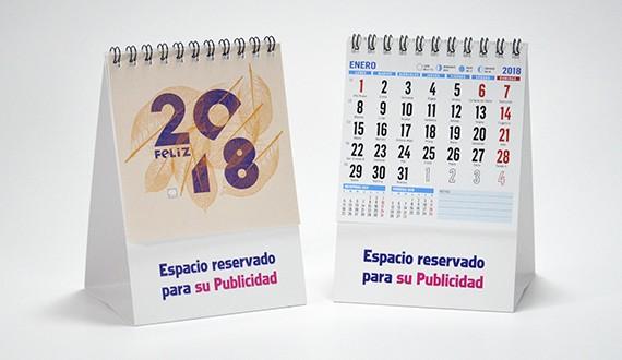 calendario sobremesa modelo MINI
