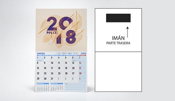calendario personalizado modelo nevera XL