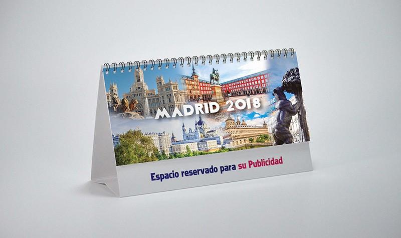 Portada calendario motivos Madrid