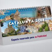 portada calendario motivo sobremesa Cataluña