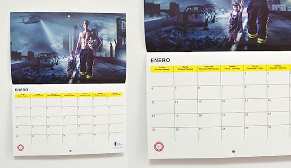 calendarios solidarios bomberos 2019