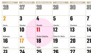 calendario para tu comunidad 2019