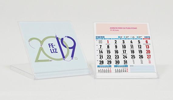 calendarios sobremesa cd