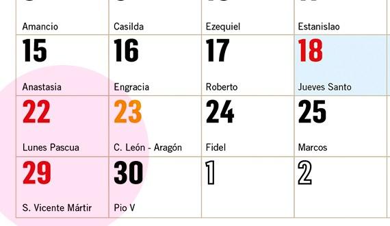 valencia calendario san vicente