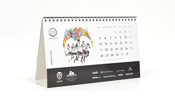 calendarios equipos futbol beneficos