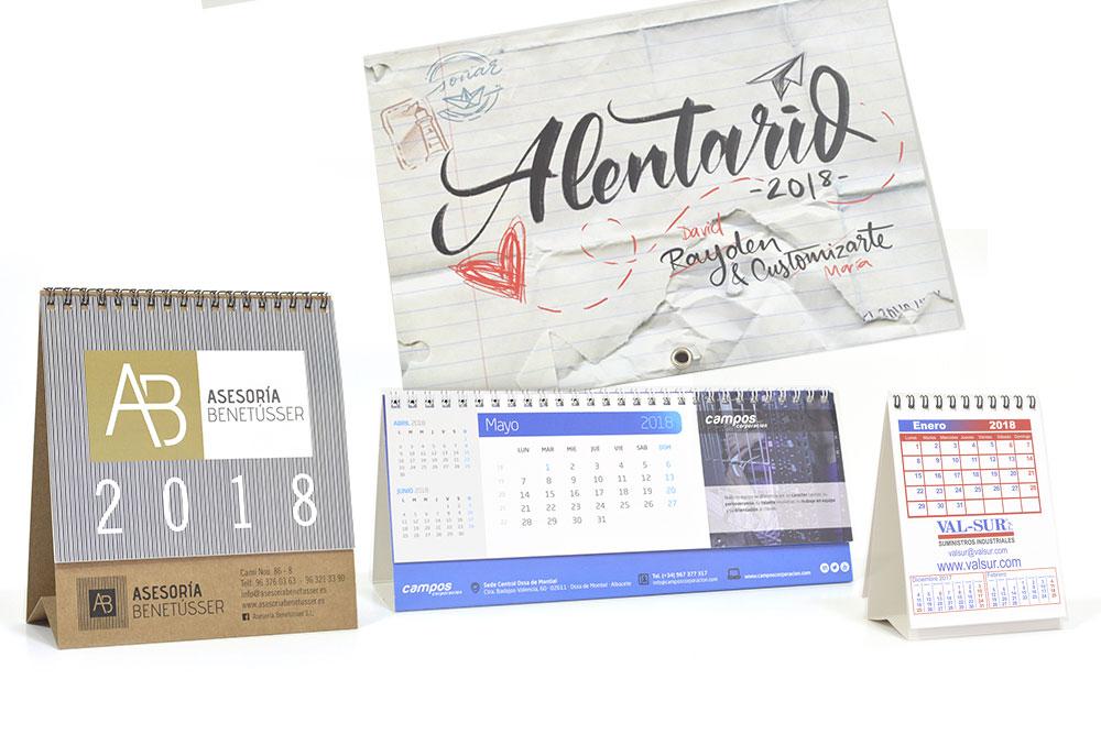 calendarios con tu diseño
