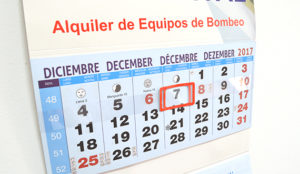 empresa 2019 calendario transporte