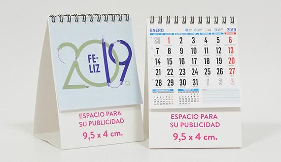 calendario 2019 sobremesa