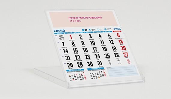 calendario sobremesa valencia