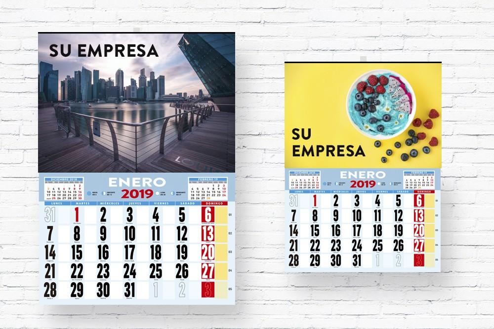 calendario de varilla