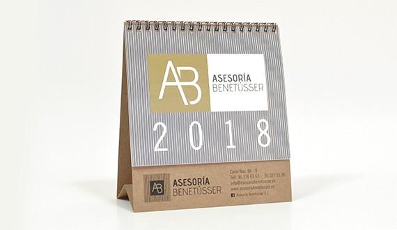 asesorias calendarios 2019