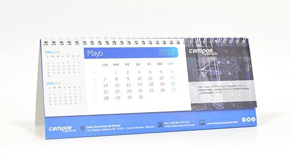 personalizado calendario 2019 empresas