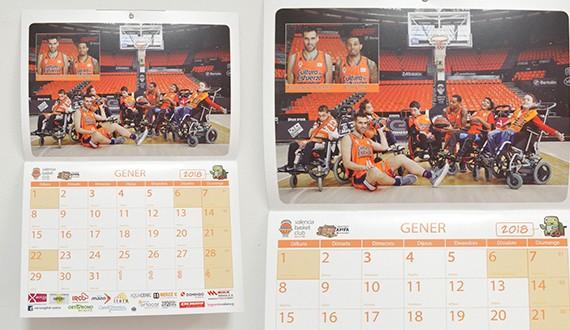 valencia basket calendarios