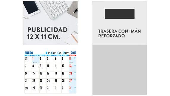 calendario nevera 2019