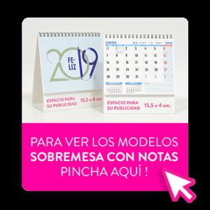 Calendario personalizado con notas