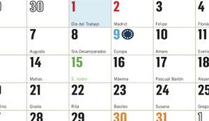 calendarios personalizados 2019