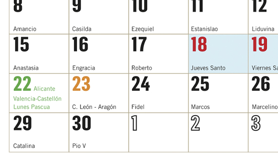 valencia-festivos-calendario-2019