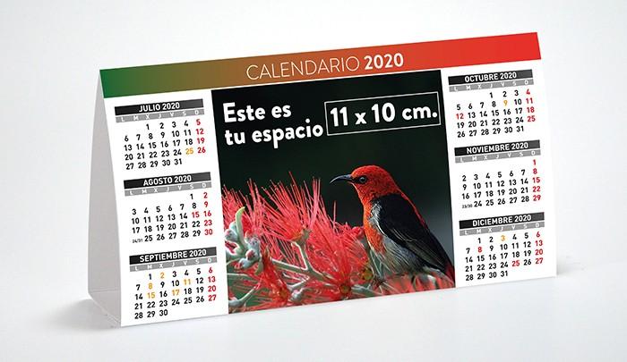 Calendario Iva 2020.Calendario Semestral Calendarios Personalizados